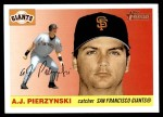 2004 Topps Heritage #253  A.J. Pierzynski  Front Thumbnail