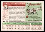 2004 Topps Heritage #253  A.J. Pierzynski  Back Thumbnail