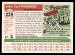 2004 Topps Heritage #216  John Thomson  Back Thumbnail