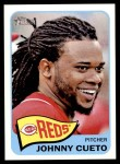 2014 Topps Heritage #123  Johnny Cueto  Front Thumbnail