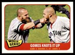 2014 Topps Heritage #135   -  Jonny Gomes World Series Game #4 - Gomes Knots it Up Front Thumbnail