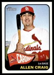 2014 Topps Heritage #190  Allen Craig  Front Thumbnail