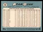 2014 Topps Heritage #266  Adam Dunn  Back Thumbnail