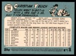 2014 Topps Heritage #268  Christian Yelich  Back Thumbnail