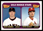2014 Topps Heritage #282   -  Kevin Siegrist / Heath Hembree Rookies Front Thumbnail
