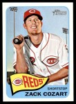 2014 Topps Heritage #339  Zack Cozart  Front Thumbnail
