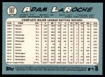 2014 Topps Heritage #351  Adam LaRoche  Back Thumbnail