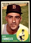 1963 Topps #28 WHI Mike Fornieles  Front Thumbnail