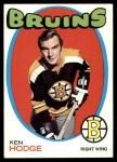 1971 Topps #115  Ken Hodge  Front Thumbnail