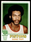 1973 Topps #22  George Trapp  Front Thumbnail