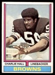 1974 Topps #403  Charlie Hall  Front Thumbnail