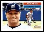 2005 Topps Heritage #56  Carlos Lee  Front Thumbnail