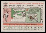 2005 Topps Heritage #168  Ted Lilly  Back Thumbnail