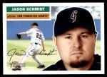 2005 Topps Heritage #163  Jason Schmidt  Front Thumbnail