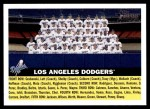 2005 Topps Heritage #166   Los Angeles Dodgers Team Front Thumbnail