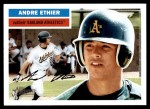 2005 Topps Heritage #16  Andre Ethier  Front Thumbnail