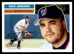 2005 Topps Heritage #183  Nick Johnson  Front Thumbnail