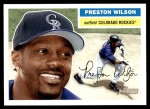 2005 Topps Heritage #129  Preston Wilson  Front Thumbnail