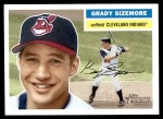 2005 Topps Heritage #264  Grady Sizemore  Front Thumbnail