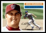 2005 Topps Heritage #340  Brad Wilkerson  Front Thumbnail