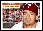 2005 Topps Heritage #366  David Bell  Front Thumbnail