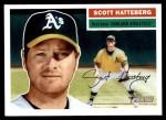 2005 Topps Heritage #221  Scott Hatteberg  Front Thumbnail