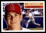 2005 Topps Heritage #201  Jeff DaVanon  Front Thumbnail