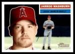 2005 Topps Heritage #324  Jarrod Washburn  Front Thumbnail