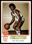 1973 Topps #147  Art Williams  Front Thumbnail