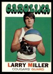 1971 Topps #208  Larry Miller  Front Thumbnail