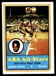 1973 Topps #260  James Jones  Front Thumbnail