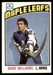 1976 O-Pee-Chee NHL #373  Dave Williams  Front Thumbnail
