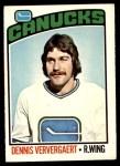 1976 O-Pee-Chee NHL #175  Dennis Ververgaert  Front Thumbnail
