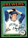 1975 Topps Mini #256  Billy Champion  Front Thumbnail