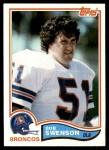 1982 Topps #87  Bob Swenson  Front Thumbnail