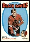 1971 Topps #69  Keith Magnuson  Front Thumbnail