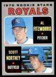 1970 Topps #241   -  Al Fitzmorris / Scott Northey Royals Rookies Front Thumbnail
