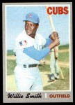 1970 Topps #318  Willie Smith  Front Thumbnail