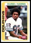1978 Topps #46  Duriel Harris  Front Thumbnail