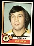 1974 Topps #239  Johnny Bucyk  Front Thumbnail