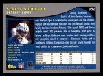 2001 Topps #352  Scotty Anderson  Back Thumbnail