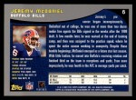 2001 Topps #6  Jeremy McDaniel  Back Thumbnail