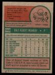 1975 Topps Mini #568  Dale Murray  Back Thumbnail