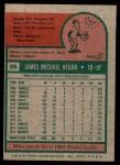 1975 Topps Mini #99  Mike Hegan  Back Thumbnail