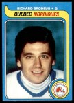 1979 Topps #176  Richard Brodeur  Front Thumbnail