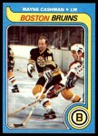 1979 Topps #79  Wayne Cashman  Front Thumbnail