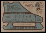 1979 Topps #224  Dennis Polonich  Back Thumbnail
