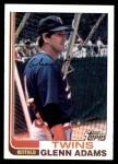 1982 Topps #519  Glenn Adams  Front Thumbnail