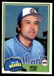 1981 Topps #457  Mike Lum  Front Thumbnail