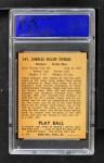 1940 Play Ball #141  Casey Stengel  Back Thumbnail